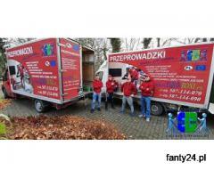 Przeprowadzki Żyrardów-Transport mebli, rzeczy z wniesieniem PL i UE